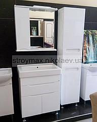 Комплект меблів Марко 70 (Тумба з умивальником+3еркало+Пенал б/к)