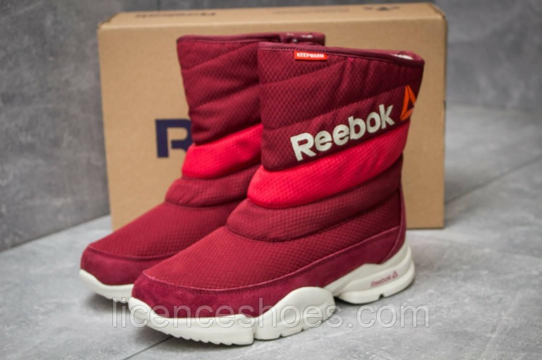Женские красные дутики Reebok Keep Warm