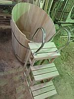 Купель овальная 1360 литров  серия «СТАНДАРТ ПЛЮС»