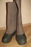 Валенки битые из натуральной шерсти без галош, фото 3