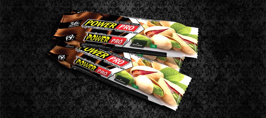 Протеиновый батончик Power Pro ореховый Nutella фисташковое пралине 36% (60 г)