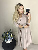 Платье женское с юбкой клёш в расцветках  3182, фото 1