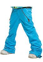 Горнолыжные или Сноубордические Штаны Piona Aqua Blue Jean - Размер WS