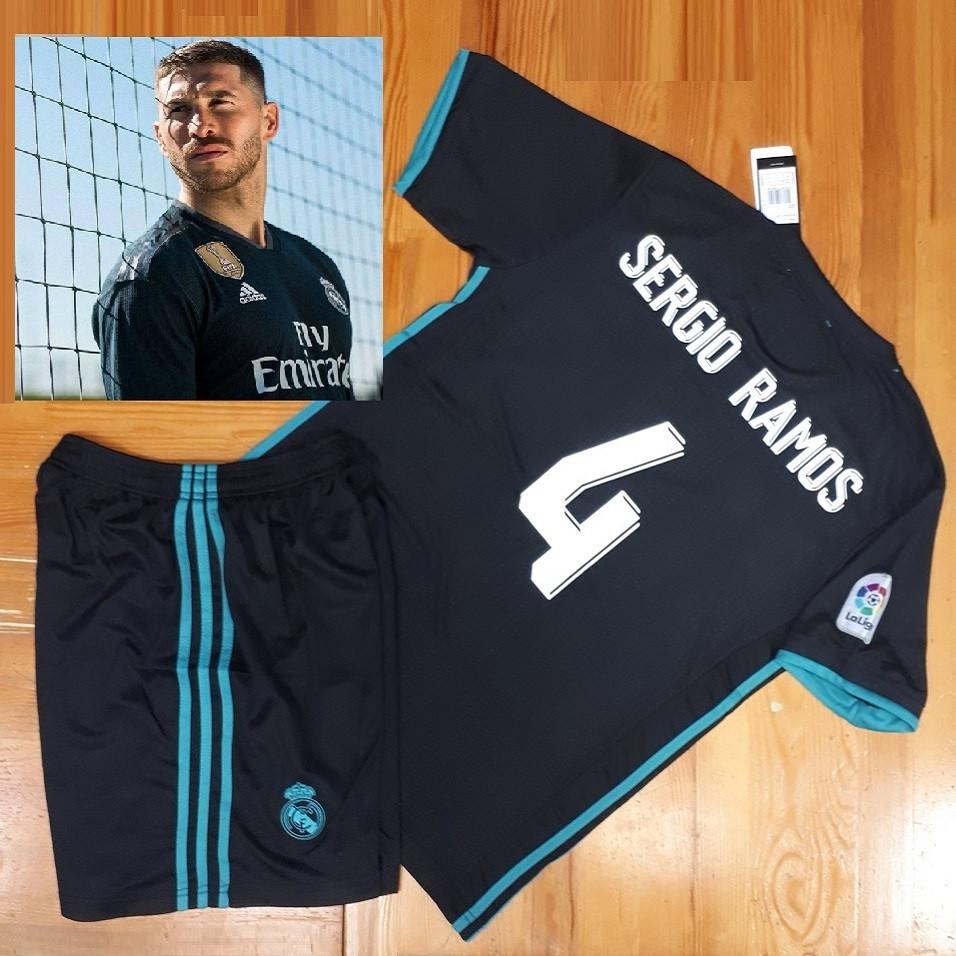 Футбольная форма  Реал (Мадрид) №4 Серхио Рамос