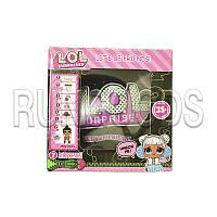 Игрушечный набор с куклой LOL 10см Черный