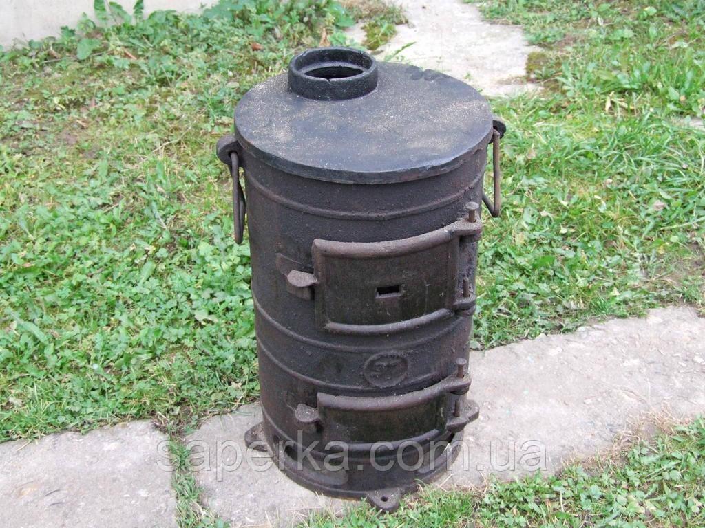 Печка, буржуйка чугунная для дачи СССР