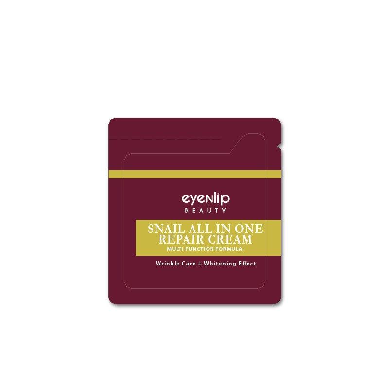 Крем для лица с экстрактом улитки EYENLIP Snail All In One Repair Cream 1.5 ml