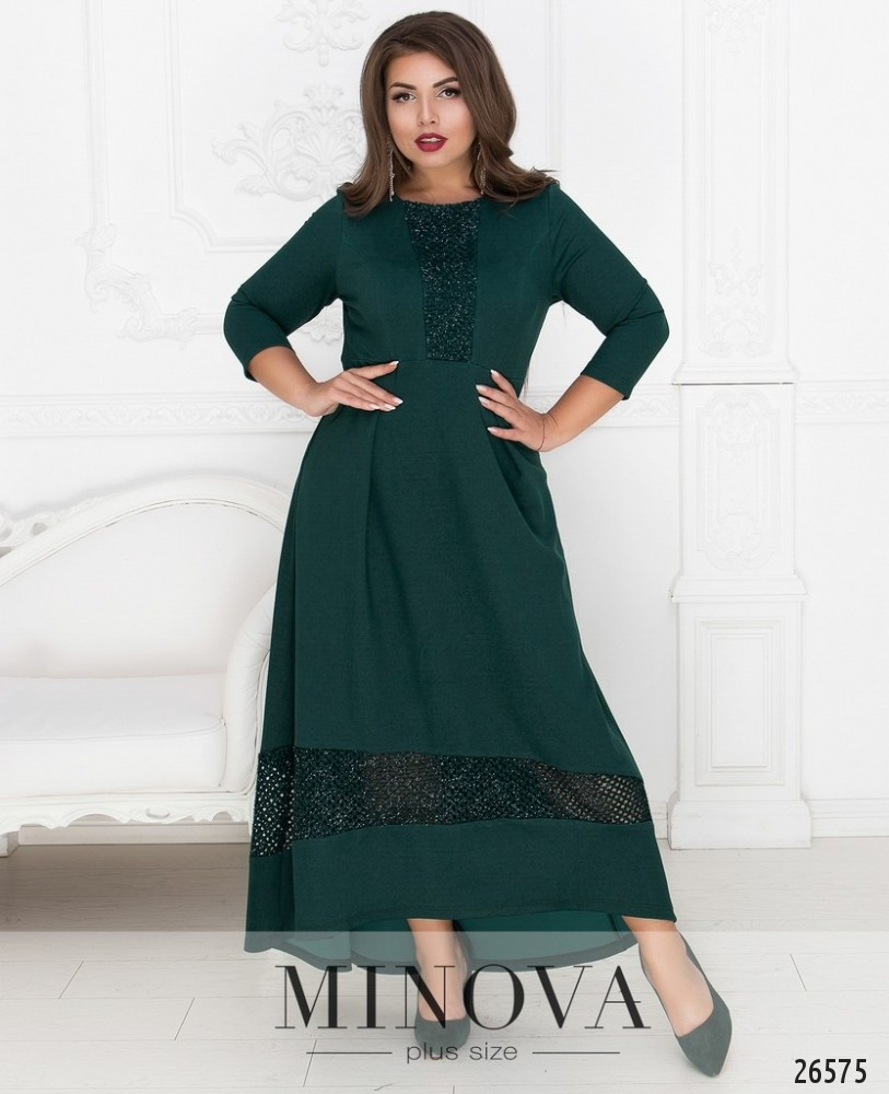 d512d769e1e Асимметричное вечернее платье-макси с завышенной талией с 52 по 64 размер -  Интернет-