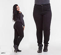 Джинсы средняя посадка стрейч джинс на байке 50-52,54-56,56-58,58-60
