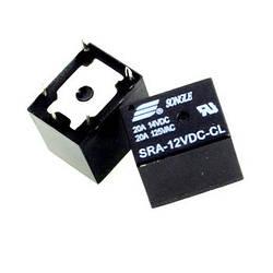 Реле электромагнитное SRA-12VDC-CL 5pin 12В 20А