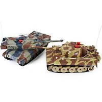 Детский радиоуправляемый игрушечный танк, фото 1