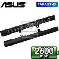 Аккумулятор батарея для ноутбука Asus D550