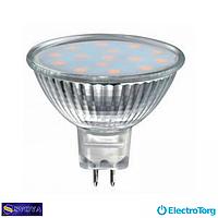 Светодиодная лампа MR16 3W, JCDR, 3000K, GU5.3 Svoya