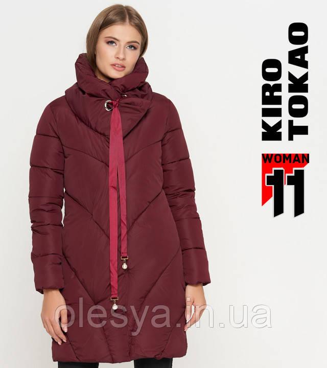 Киро Токао 808 | Женская куртка зимняя бордо