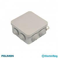 Монтажная коробка (распаячная, распределительная, соединительная) 200*100*70 Polimon