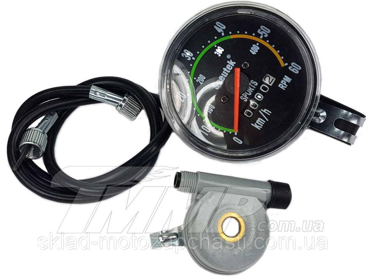 Спидометр веломотор (механический) для велосипеда