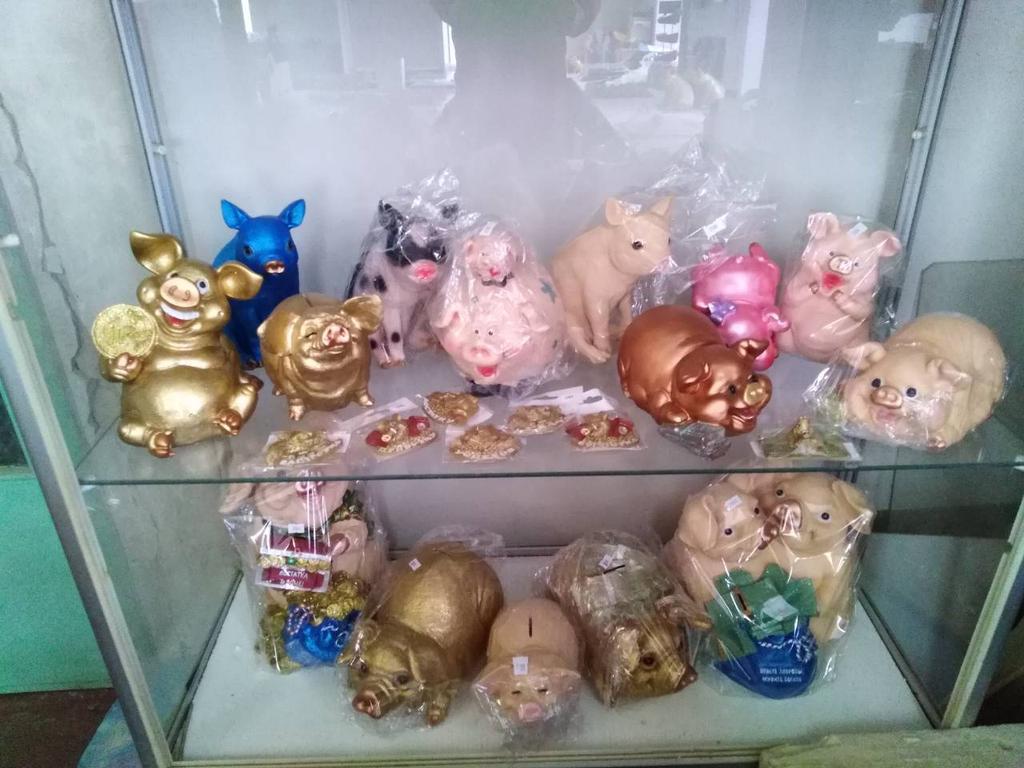 Производство сувениров и оптовые продажи. Сувениры символ Года