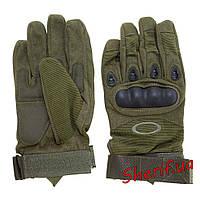 Перчатки тактические полнопалые Oakley (олива)