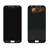 Оригинальный дисплей Samsung J730F Galaxy J7 2017 черный (LCD экран 15a9bf46d4a2d