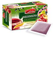 Чай фруктовый Celmar (клубника, малина, яблоко, груша, смородина) Польша 20 пакетиков, 34 г,