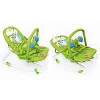 *Детский шезлонг - качалка Baby Tilly арт. BB-0001 зеленый