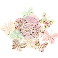 Декоративные цветы Prima Marketing 12/Pkg Dacey