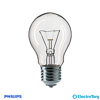 Лампа накаливания Stan 60W E27 230V A55 CL 1CT/12X10F Philips