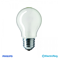 Лампа накаливания Stan 75W E27 230V A55 FR 1CT/12X10F Philips