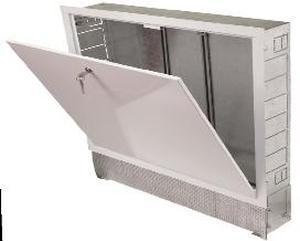 Шкаф коллекторный врезной на 12-14 выхода, фото 1