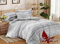 Полуторный комплект постельного белья с компаньоном S172
