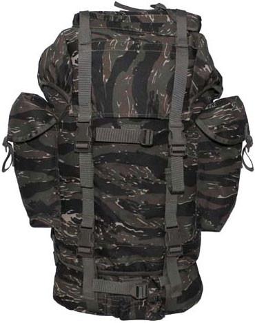 Армейский рюкзак 65л тигровый камуфляж MFH 30253C