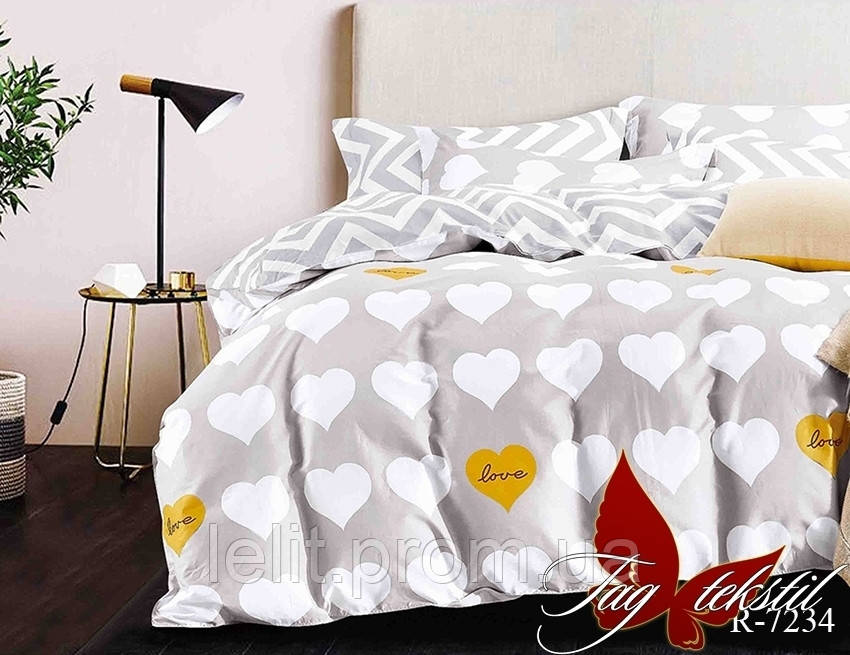 Полуторный комплект постельного белья с компаньоном R7234