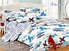 Детский полуторный комплект постельного белья с компаньоном В полете