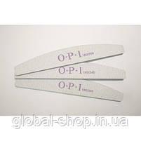 Упаковка пилок OPI 80/80 25 шт широкая серая OPI овал (или другая абразивность , форма на ваш выбор), фото 4