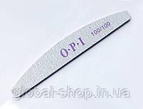 Упаковка пилок OPI 80/80 25 шт широкая серая OPI овал (или другая абразивность , форма на ваш выбор), фото 8