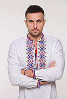 "Вышиванка мужская 2KOLYORY ""Ромби Косач"" M Белый (4018-M)"