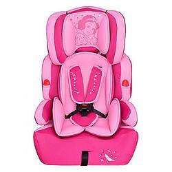 Автокресло детское Bambi BAB001-8 Принцесса Розовый (intBAB001-8)