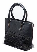 Женская сумка с перфорацией