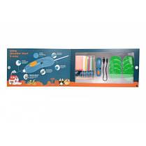 3D-ручка для детского творчества - МЕГАКРЕАТИВ 192 стержня 8 шаблонов, фото 3