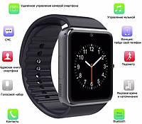 Часы-телефон Smart Watch GT08. Умные часы UWatch GT08.