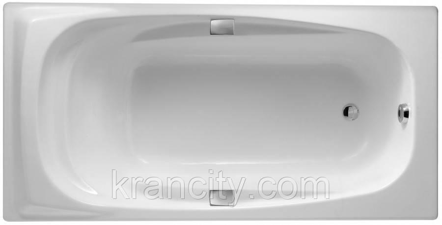 Ванна чугунная 180х90см Jacob Delafon SUPER REPOS E2902-00 ручки E75110-CP + ножки E4113-NF Франция