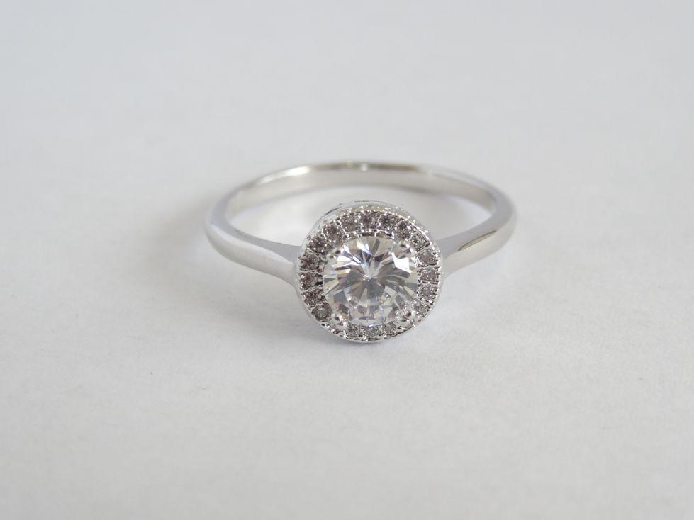 Кольцо женское Xuping с фианитами 142544
