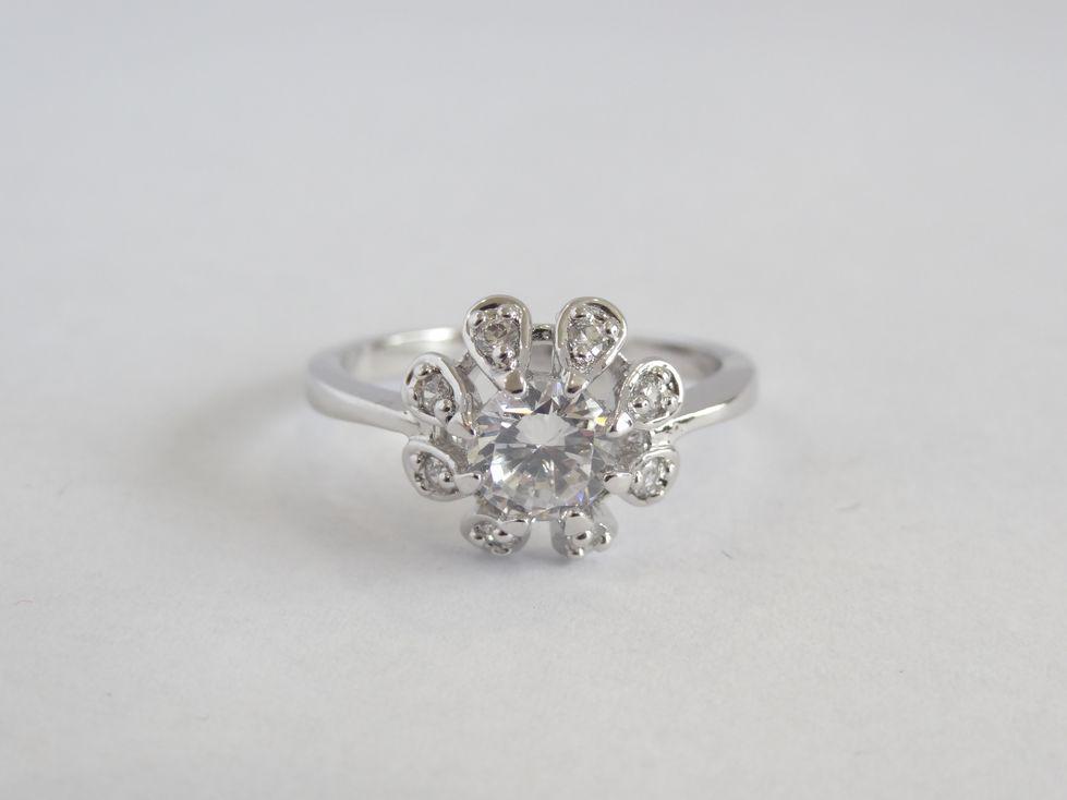 Кольцо женское Xuping с фианитами 142547