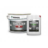 Teknos Teknofloor 2K 4,5 л База 3 эпоксидная краска и лак для бетонных полов