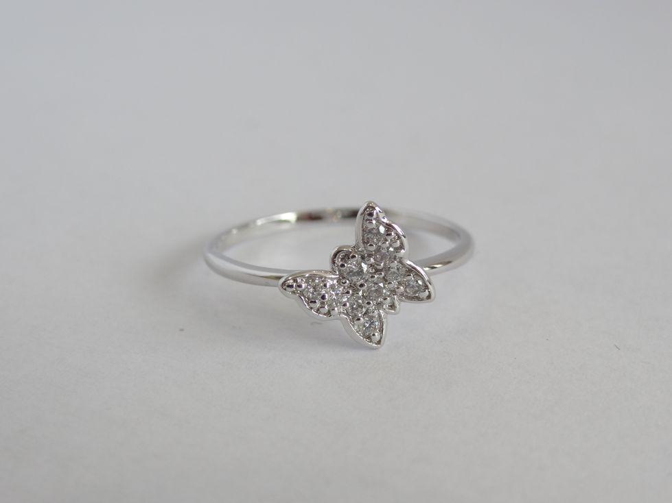 Кольцо женское Xuping с фианитами 142556
