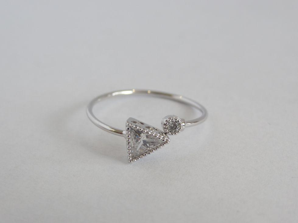 Кольцо женское Xuping с фианитами 142557