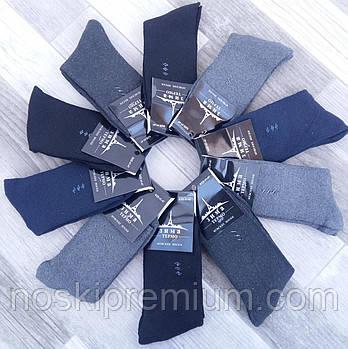 Шкарпетки чоловічі термо махрові бавовна BFL, розмір 41-47, асорті, HA18