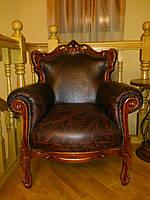 Мебель для гостиной из дерева Элит, кресло для отдыха