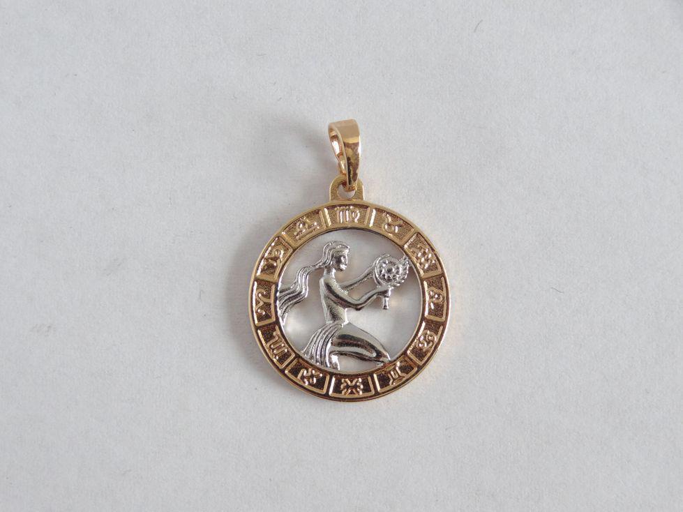 Кулон знак зодиака Дева 142722