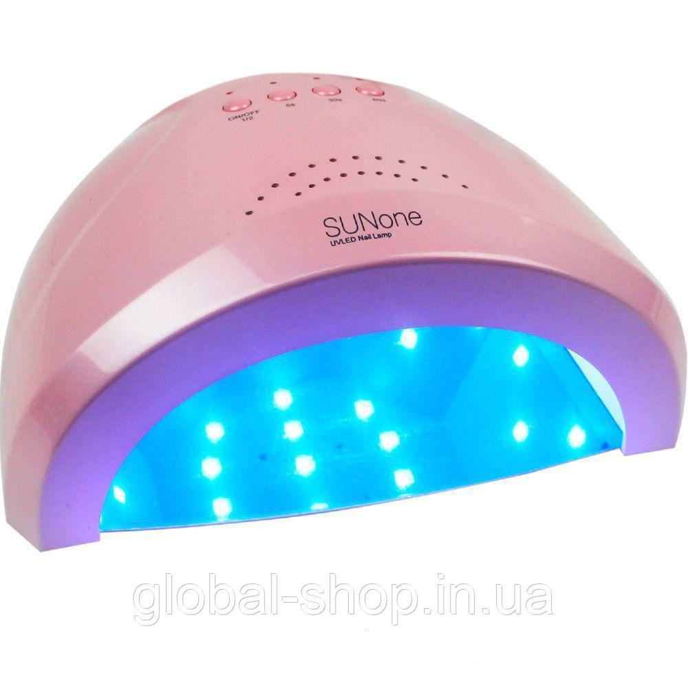 LED Лампа для ногтей SunOne 48-24W